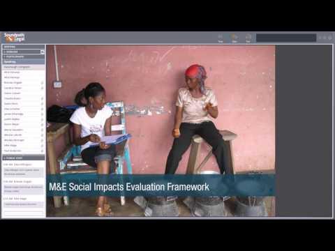 M&E Social Impacts Framework