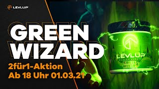 LevlUp Green Wizard | LevlUp