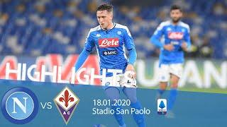 Highlights Serie A - Napoli vs Fiorentina 0-2