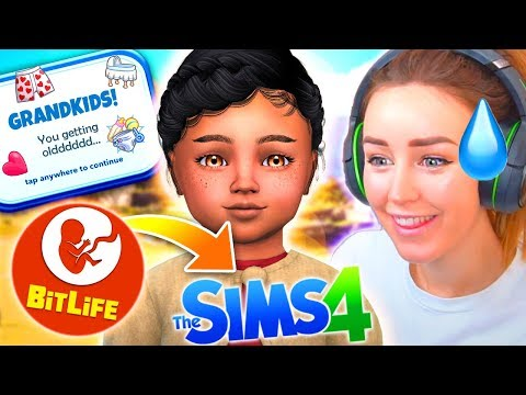 FIRST GRANDCHILD! 👶 - Bitlife Controls My Sims! #11 😅