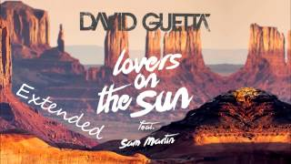 Lovers on the sun (Extended version) - David Guetta