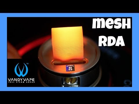 "Vandy Vape ""Mesh RDA"" Review & Build (Mesh)"