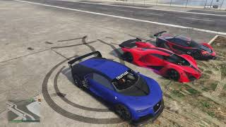 DRAG RACE: X80 Proto vs Truffade Nero vs Progen Itali vs Tempesta. NEW FASTEST CAR!!! GTA 5
