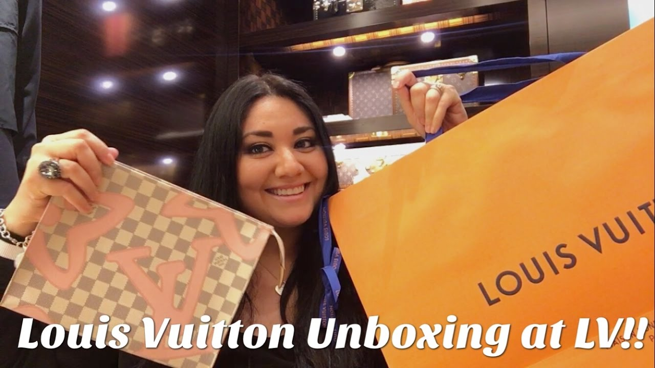 512d5863e35 Louis Vuitton Unboxing (Tahitienne Line) at LV!!! - YouTube