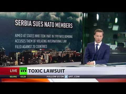 '15 tons of depleted uranium used in 1999 Serbia bombing' – intel legal team sues NATO
