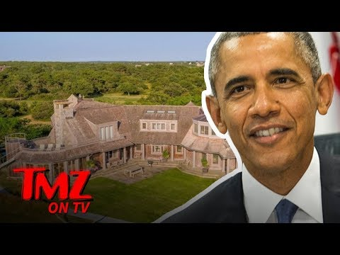 The Obamas Are Moving Into An Incredible Mansion  TMZ TV