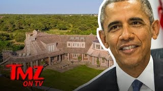 The Obamas Are Moving Into An Incredible Mansion | TMZ TV