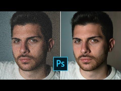 Come RIDURRE Il RUMORE Digitale Di Una Foto In MENO DI 1 MINUTO Con Photoshop CC