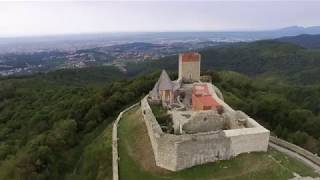 Medvedgrad Castle with Captain and Clark