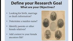 Researching Women in Archives