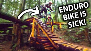 My Enduro Bike Feels BETTER THAN EVER On These North Shore Trails! | Jordan Boostmaster