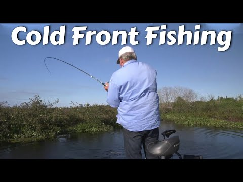 Cold Water - How To Catch Fish Better In A Cold Front.