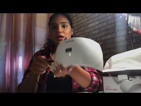 SUNUV UV/LED Nail Lamp Review | Do Not Buy!! 😡👎🏽🤦🏽♀️