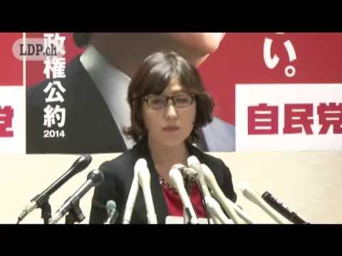稲田朋美 政務調査会長(2014.11.25)