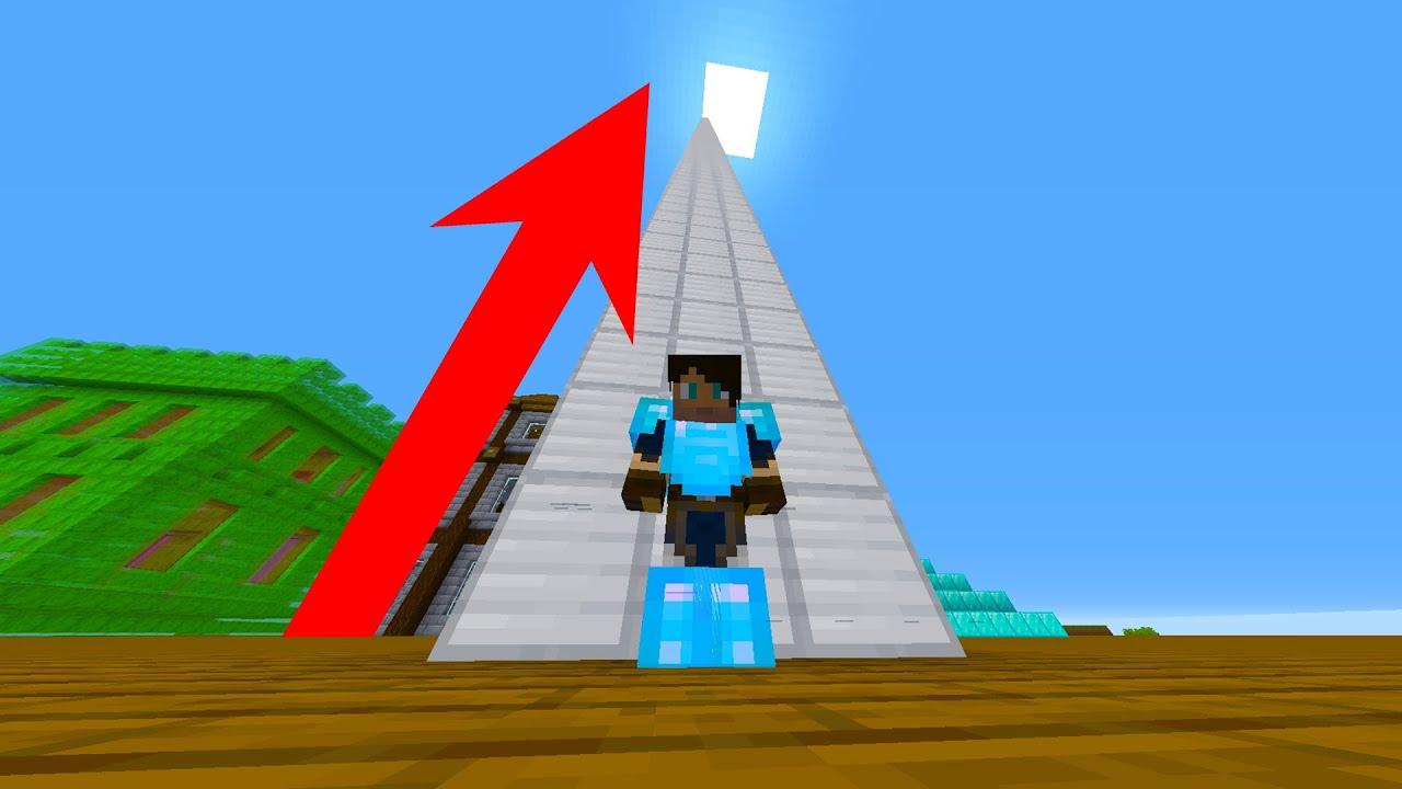 IK BOUW EEN IRON BLOCK TOWER EN DIT KOST MILJOENEN - Minecraft Skyblock 1.16