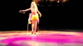 """Kubík a Sárinka - Sólo pro klobouk, taneční show: """"Když hvězdy tančí"""" 29.4.2011"""