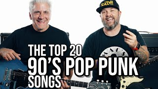TOP 20 POP PUNK SONGS OF THE 90'S