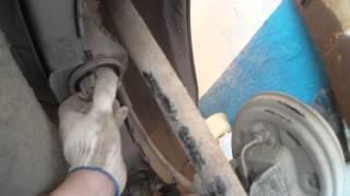 Снимаем задние амортизаторы и пружины на Ford Fusion(, 2015-04-14T18:12:02.000Z)