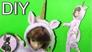 Как сделать Костюм ЕДИНОРОГА для Куклы. Шьем для куклы