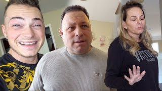 Surprising Parents W/ New Addition To The Family!