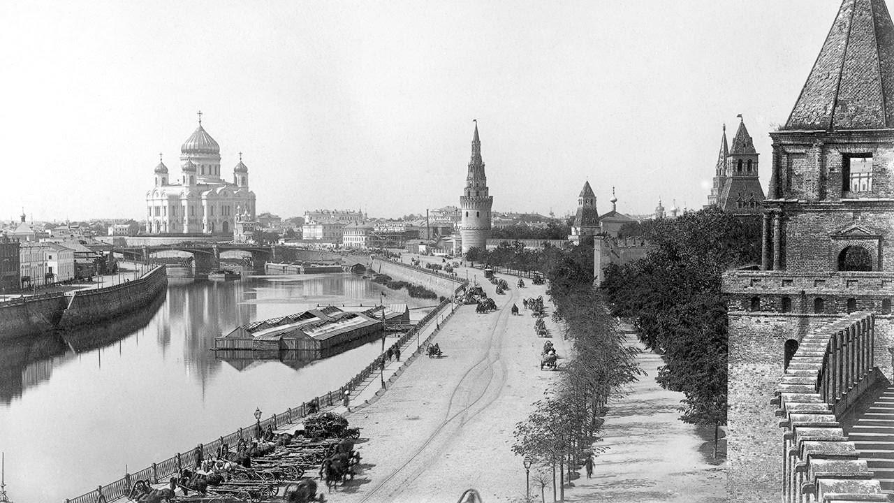 Старая Москва (часть 1) в фотографиях 1885-1935 - YouTube