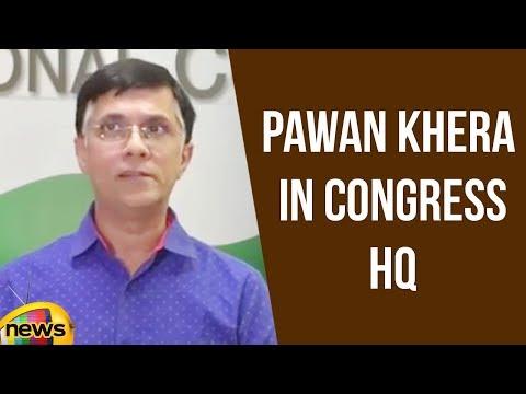 AICC Press Briefing By Pawan Khera In Congress HQ | Latest News Updates | Mango News