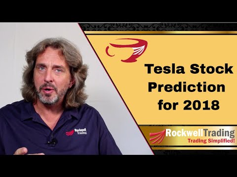 Tesla Stock Prediction 2018