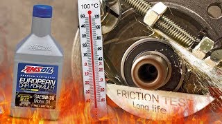 Amsoil European Car Formula 5W30 Jak skutecznie olej chroni silnik? 100°C