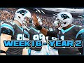 Madden 15 Panthers Connected Franchise - Week 16 vs Giants (Season 2)