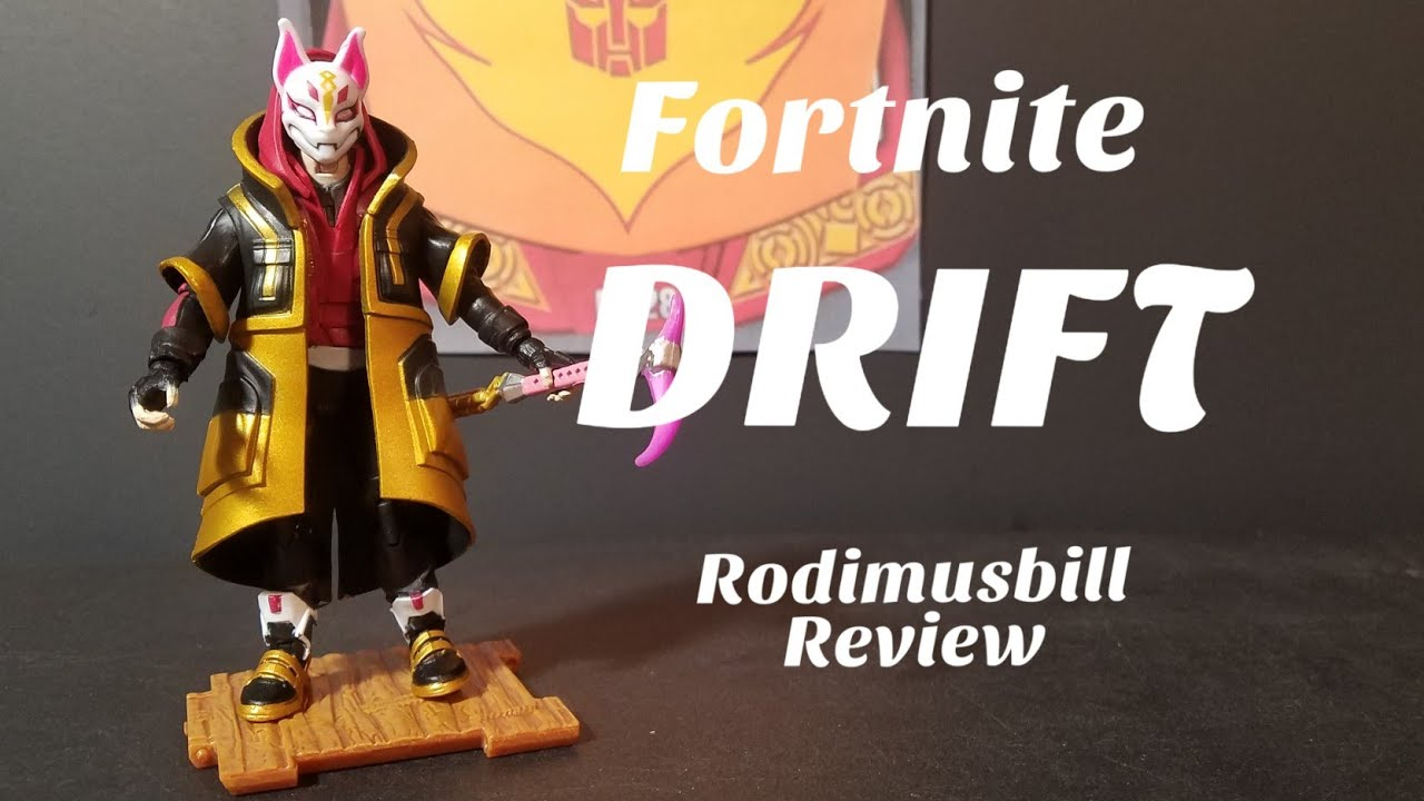 Fortnite Drift Solo Mode Core Action Figure Review Youtube