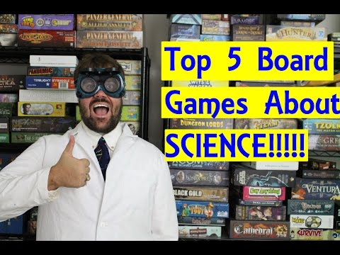 Top 5 Board Games about SCIENCE!