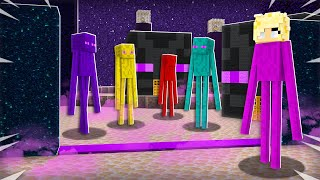 I Found an ENDERMAN Only Minecraft Server!