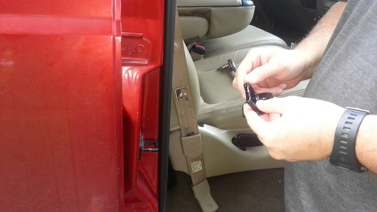 F250 Door Latch Adjustment Youtube