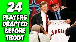 Who Were The 24 Players Drafted Before Mike Trout? Where Are They Now?
