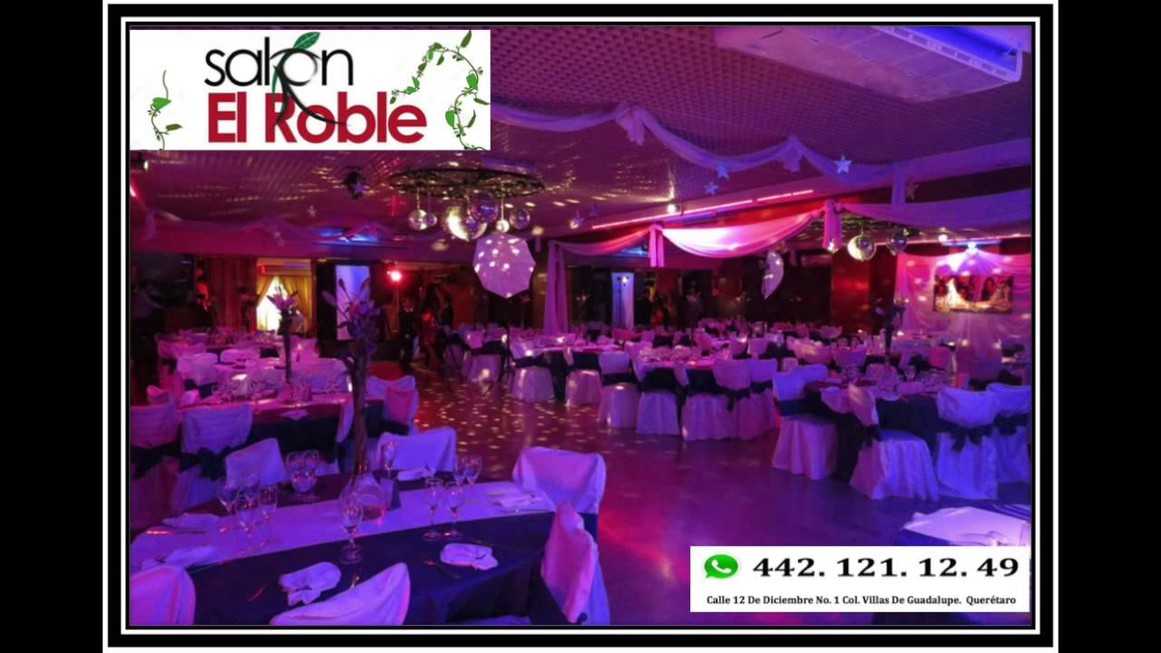 Sal n de fiestas el roble youtube for K boom salon de fiestas