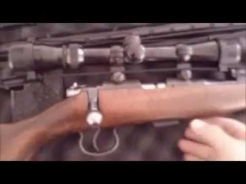Rifle BRNO modelo 2E calibre 22