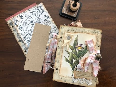 TUTORIAL - Part 1 - Let's Make A Ring Bound Journal