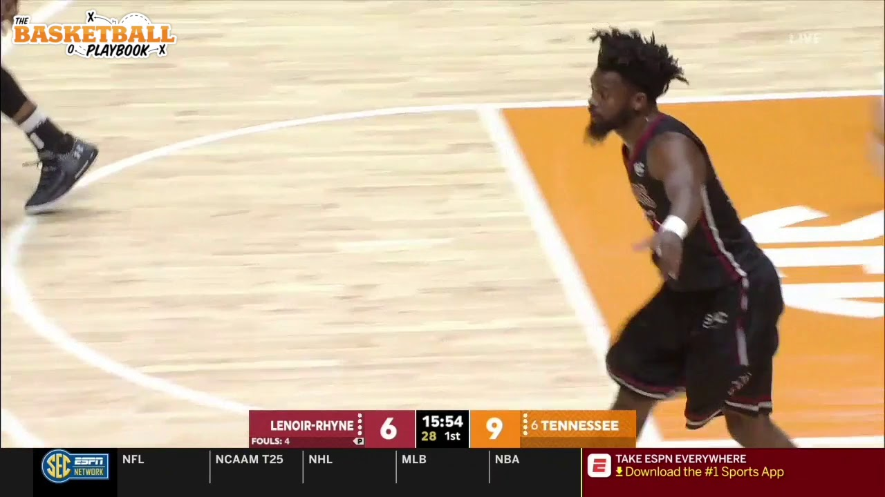 Tennessee Motion Offense - The Basketball Playbook