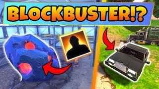 Fortnite Update: BLOCKBUSTER IS IN THE METEOR!? – 6+ Clues/Changes! (Battle Royale Gameplay/Skin)