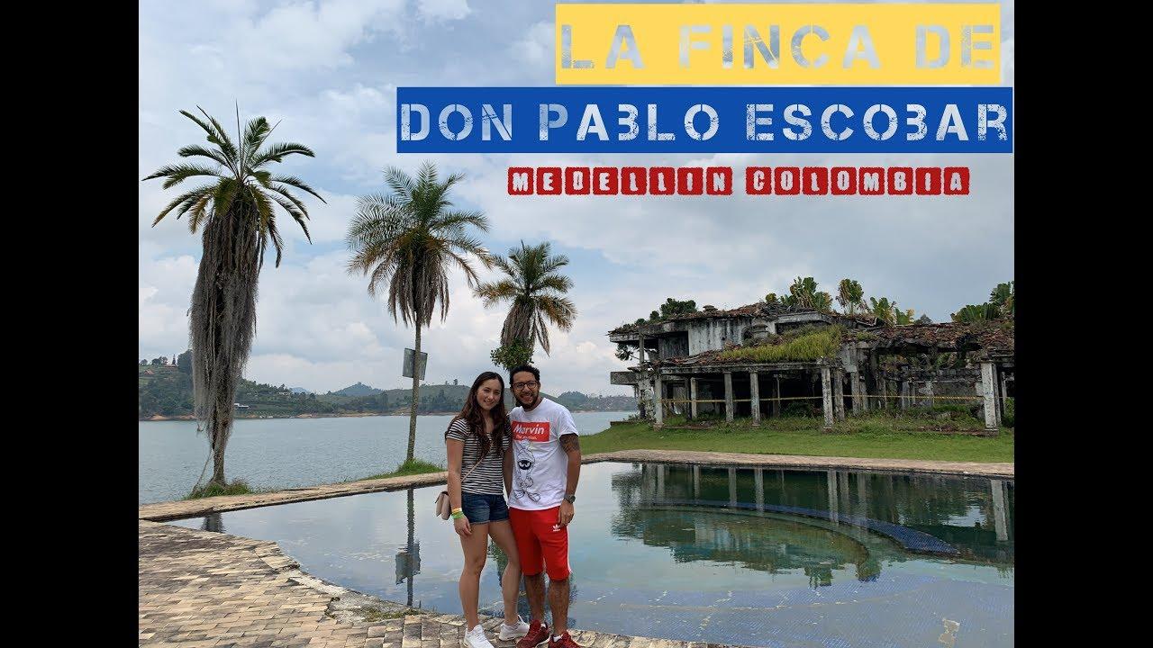 Finca De La Hija De Pablo Escobar Youtube