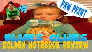 blues clues handy dandy golden notebook ebay grabs review