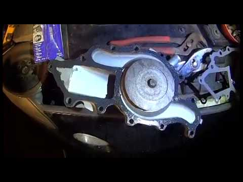 Ford Taurus Water pump Replacement - YouTube