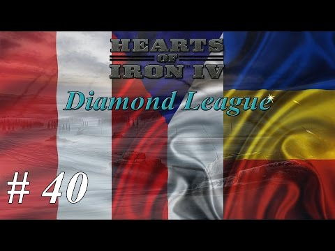 Let's play Hearts of Iron IV Multiplayer - Diamond League: Part 40 Building A Wall |