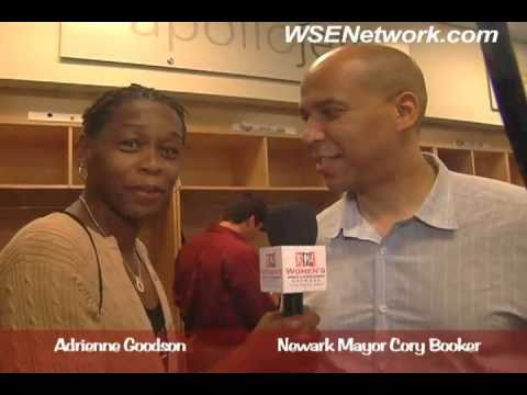 """WNBA- The """"GOODIE"""" Files with Adrienne Goodson: Mayor Cory Booker"""