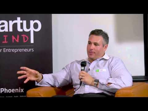 Gabriel Hyams (Pinnacle Transplant Technologies) at Startup Grind Phoenix