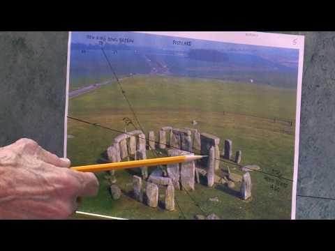 Solar Calendar in Stonehenge, England