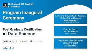 Commencement Address | PG Certification Data Science - Live from IIT Guwahati