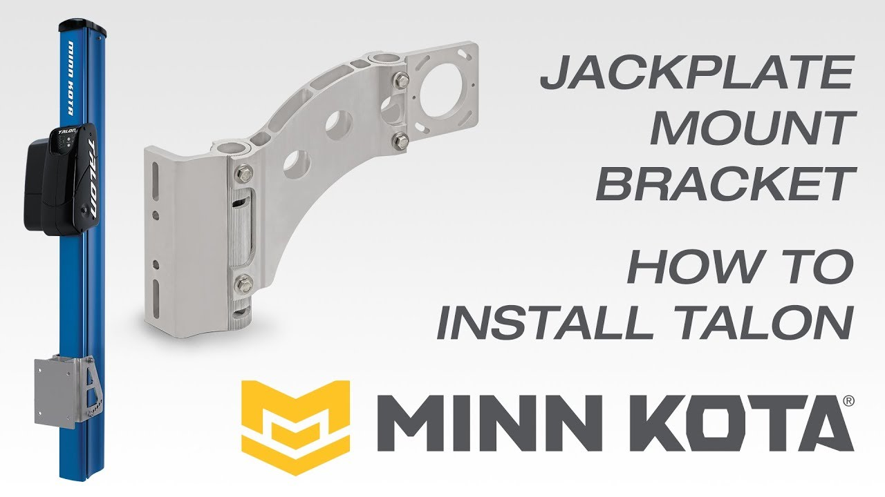 BLA - Trade Talk - Fitting & Installing TALON using Jackplate Mount Bracket