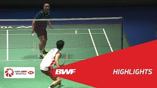 DAIHATSU YONEX JAPAN OPEN 2018 | Badminton MS - F - Highlights | BWF 2018