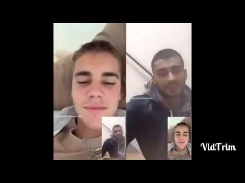 Justin Bieber Talking To Zayn Malik Via Face Time Niall Horan Talk About Being A Dentist